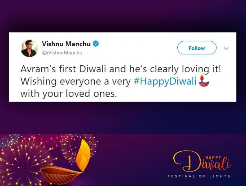 Celebs Wishes Diwali 2018 Photos