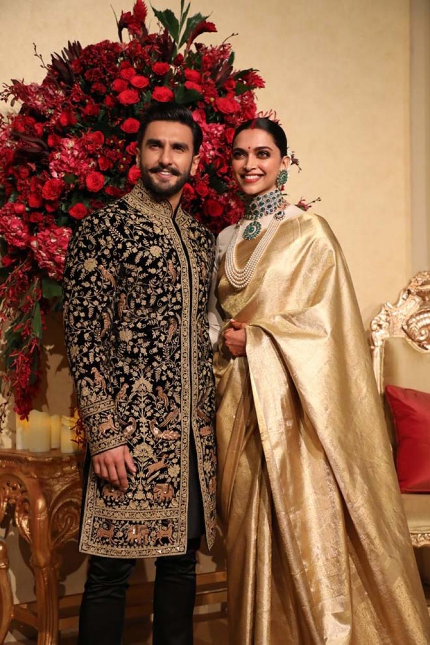 Deepika Padukone & Ranveer Singh Wedding Reception In Bangalore Photos