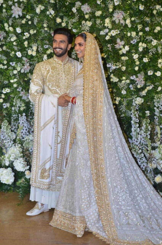 Deepika Padukone & Ranveer Singh Wedding Reception In Mumbai Photos