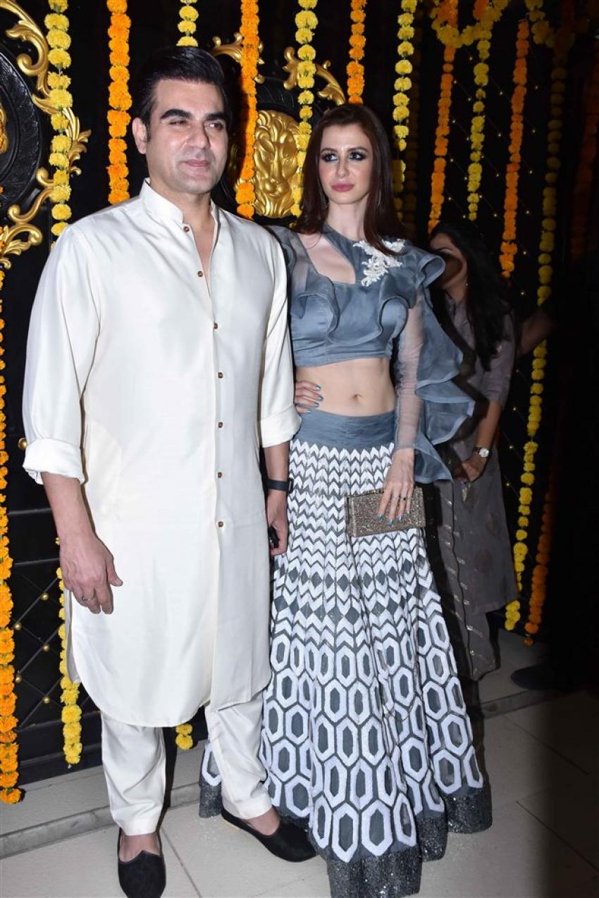Celebs At Ekta Kapoor's Diwali Bash 2018 Photos