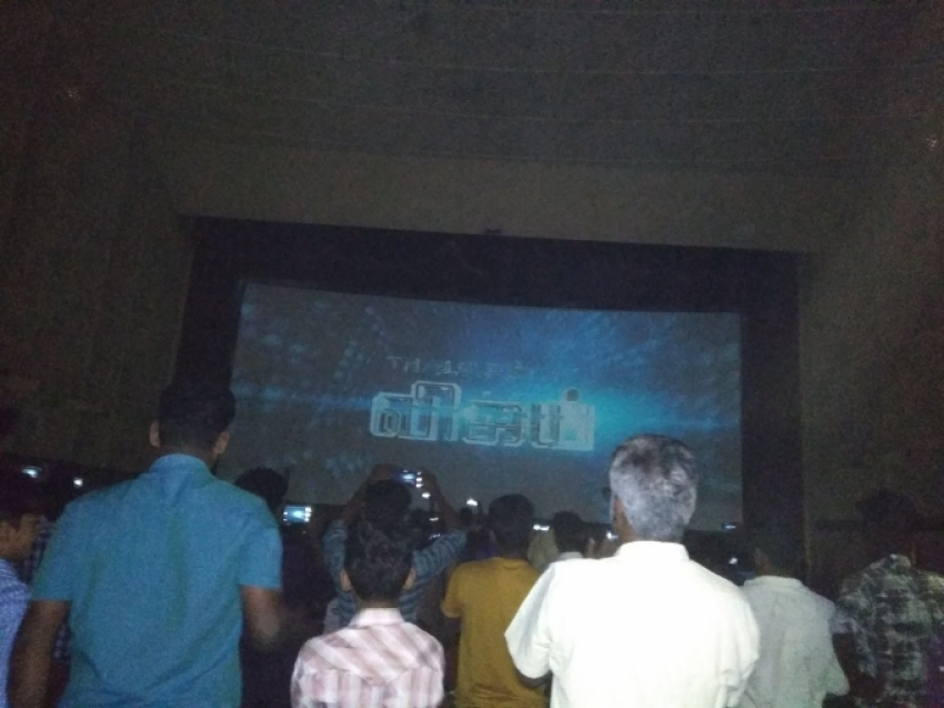 Fans Goes Crazy Over Vijay's Tamil Movie Sarkar Photos