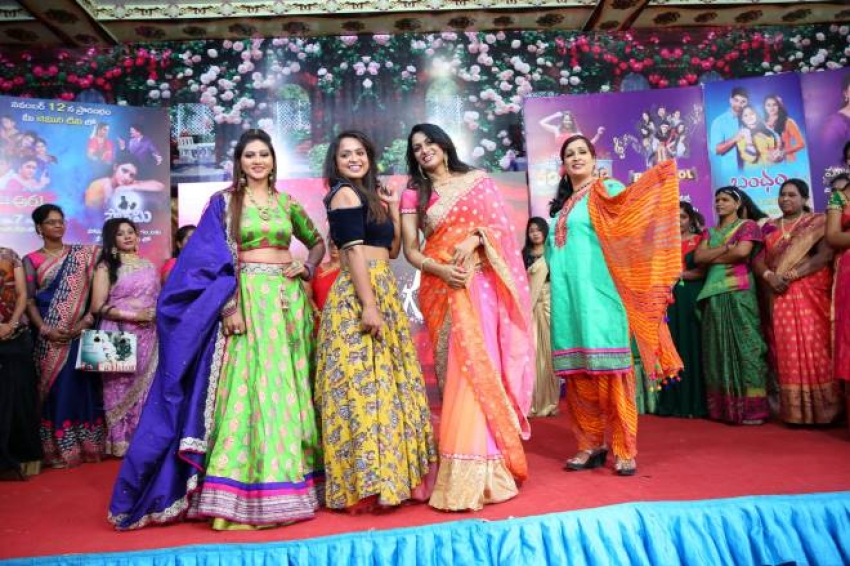 Gemini tv And Rednose Entertainment Organized by Narilokam Fashion Show Photos