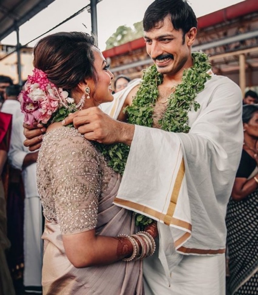 Harish Uthaman gets married to girlfriend Amritha Kalyanpur Photos