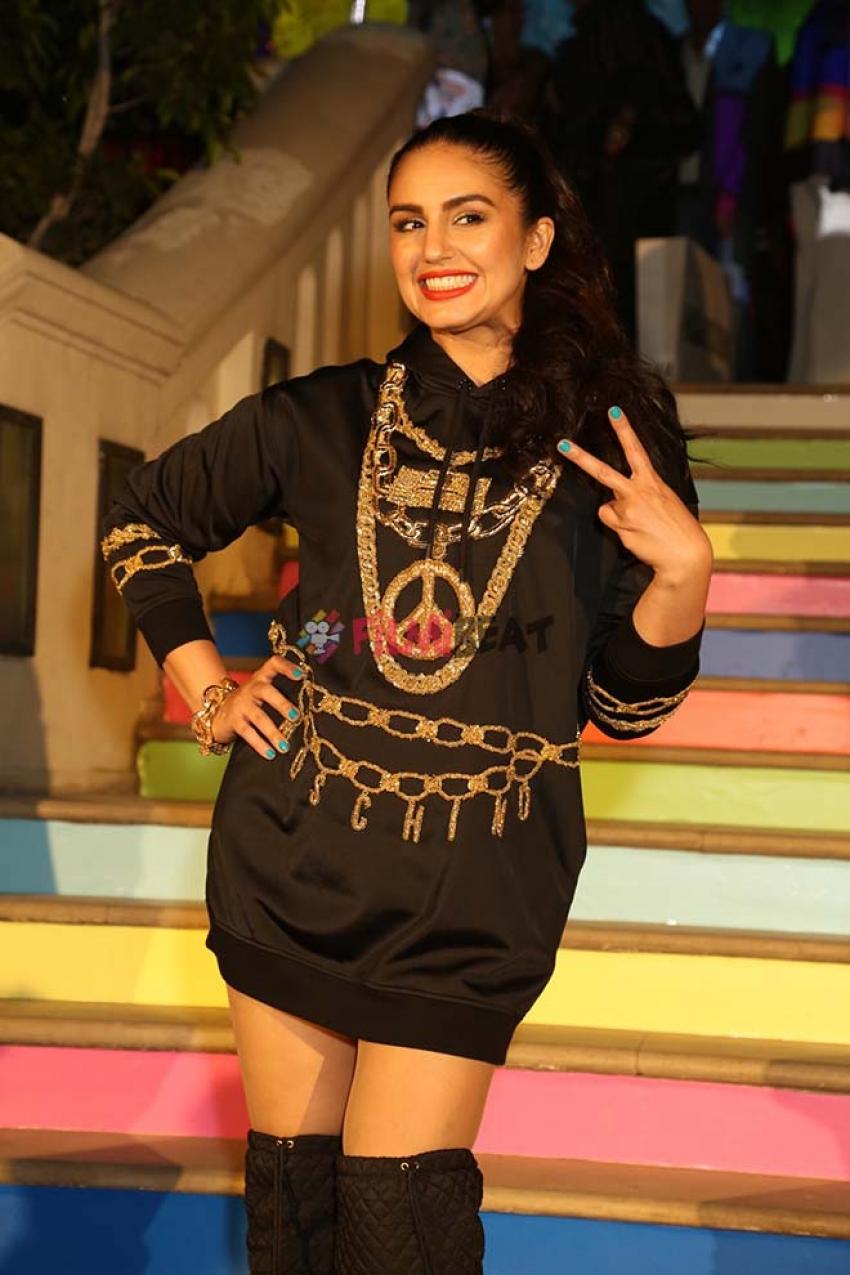 Huma Qureshi And Radhika Apte H&M and Moschino TV launch in New Delhi Photos