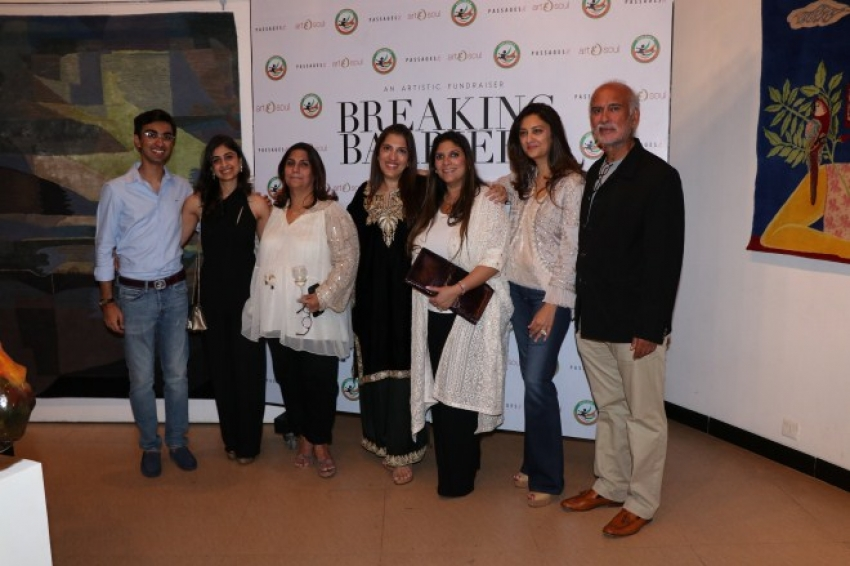 Inauguration of art show - Breaking Barriers Photos
