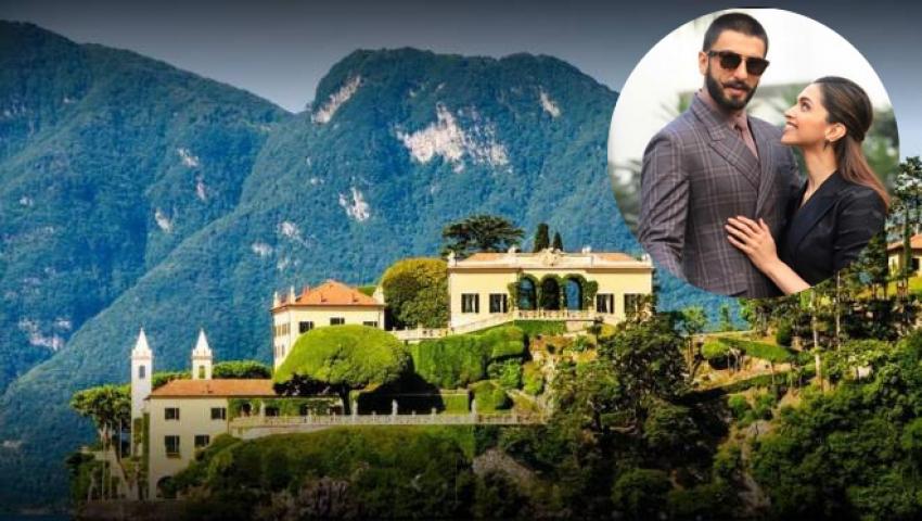 Inside Deepika Padukone and Ranveer Singh's destination wedding venue at Lake Como Photos
