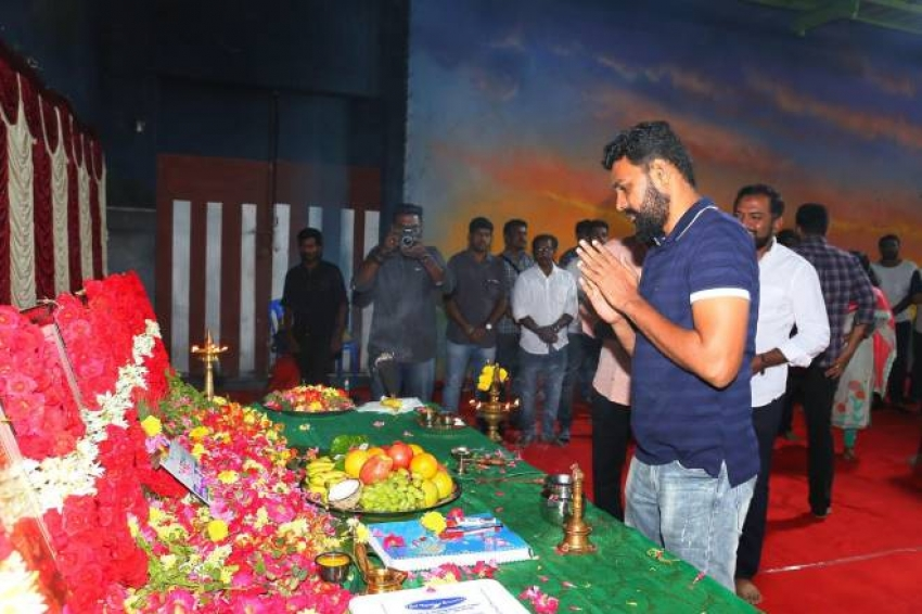 Jyothika Suriya Starrer Dream Warrior Production New Movie Launch Photos