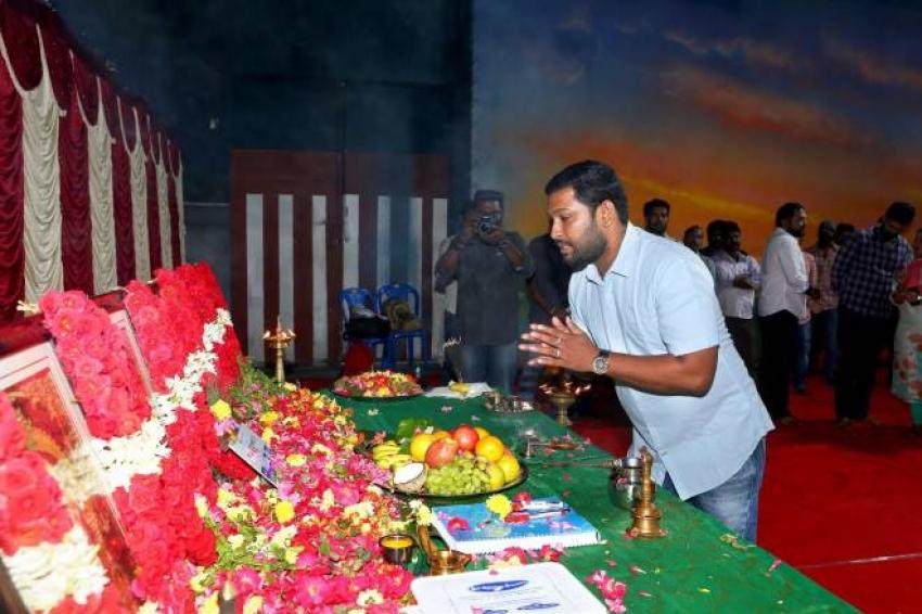 Jyothika Suriya Starrer Dream Warrior Production New Movie Launch Photos