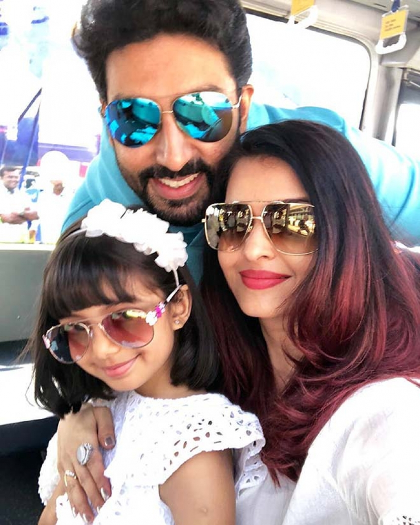 Aishwarya Rai & Abhishek Bachchan Leaked 45th Birthday Vaction In Goa Photos
