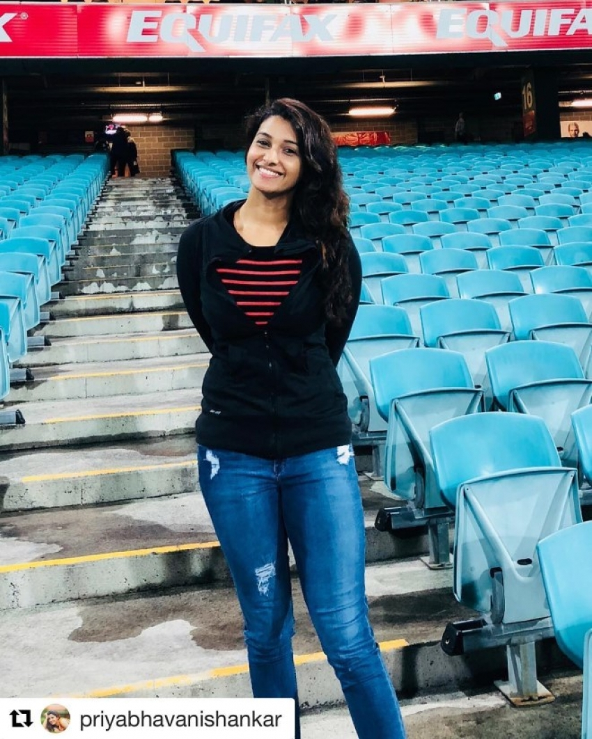 Actress Priya Bhavani Shankar Latest Photo Stills: Priya Bhavani Shankar Photos [HD]: Latest Images, Pictures