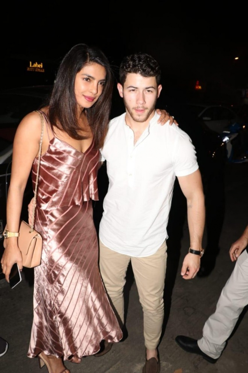 Priyanka Chopra and Nick Jonas Host Pre-Wedding Dinner Photos