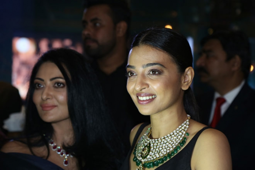 Radhika Apte at Jewellery Line House of Ayant Photos