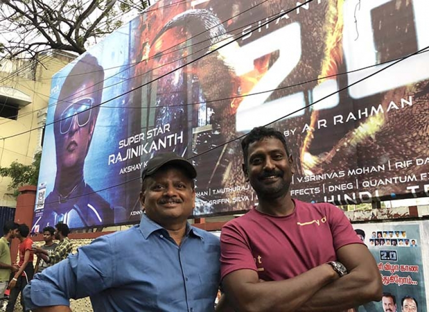 Rajini 2.0 Movie Release Fans Celebration Begins Photos