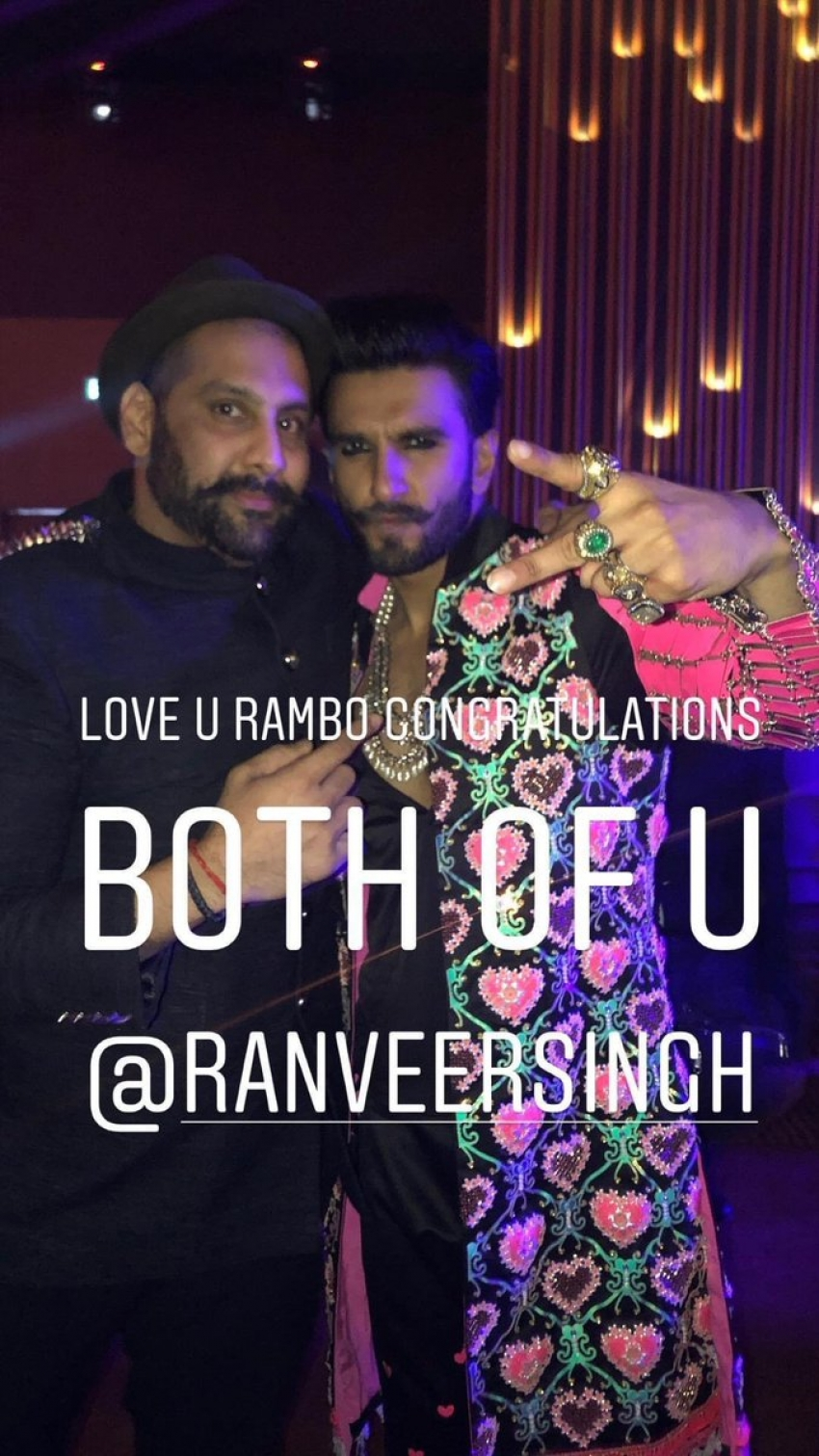 Ranveer Singh Sister Throws Dinner Party For Newly Wed Couple Photos