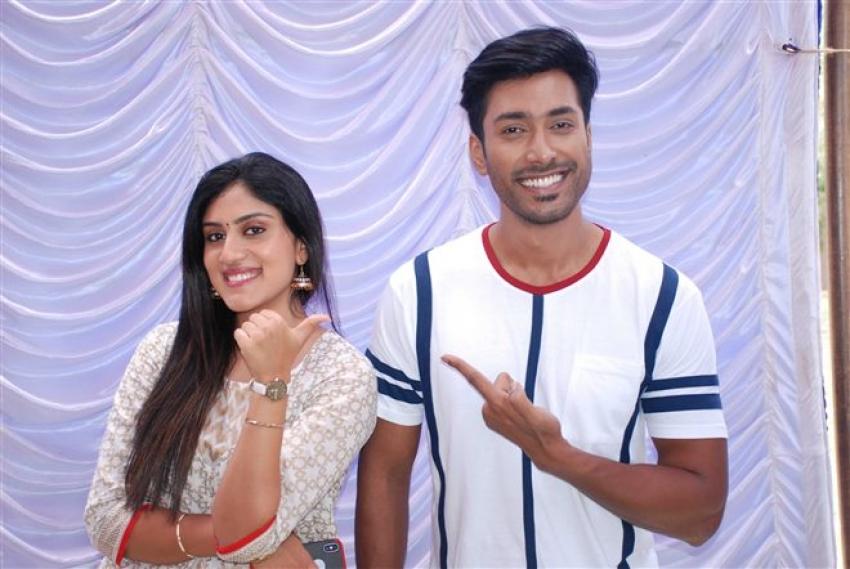 Rishi Movie Sarvajanikarige Suvarnavakasha Muhurat Photos