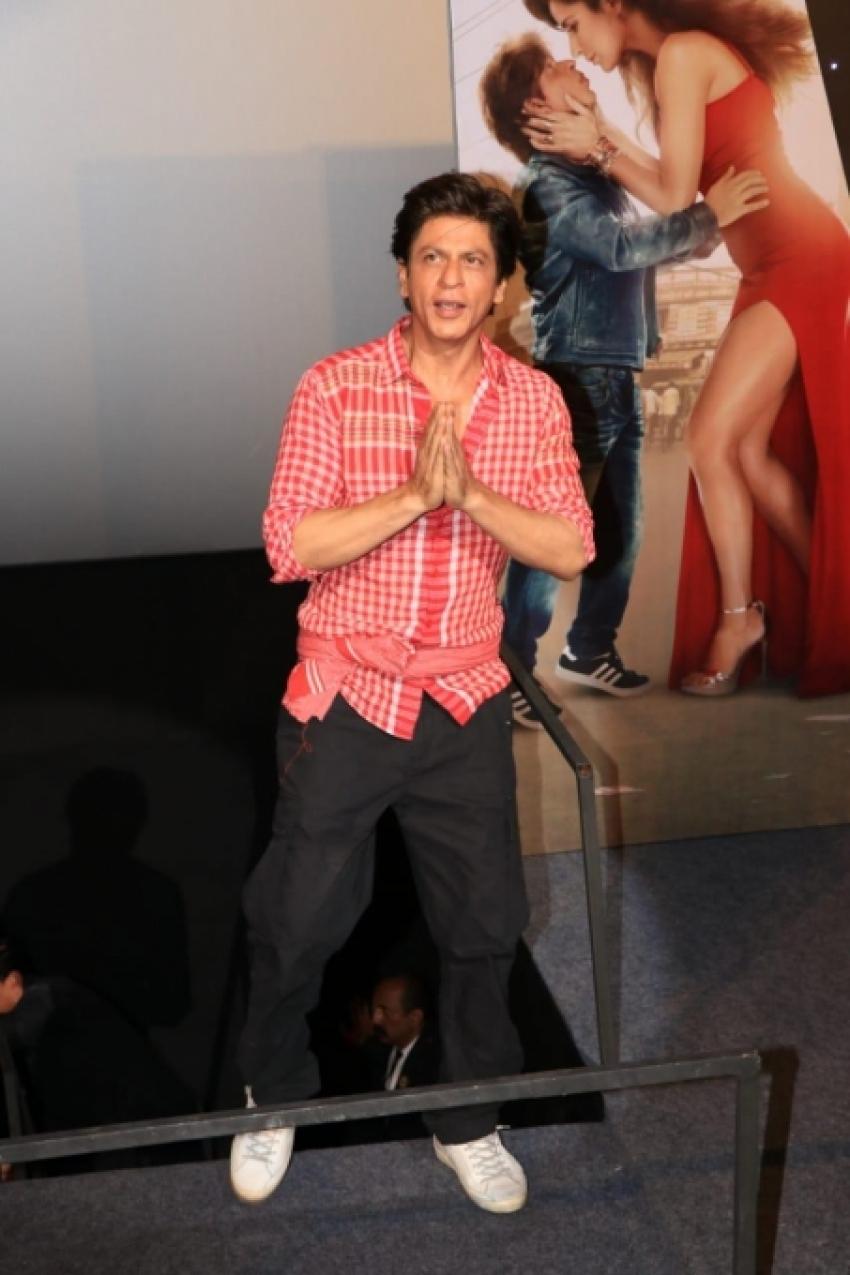 Shahrukh Khan's Zero Trailer Launch Photos