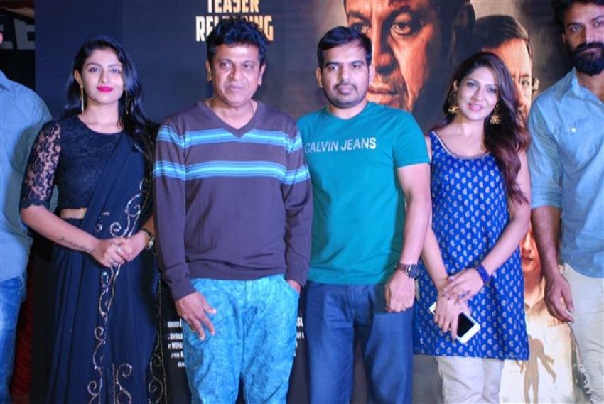 Shiva Rajkumar Launch Teaser of Film Kavacha Photos