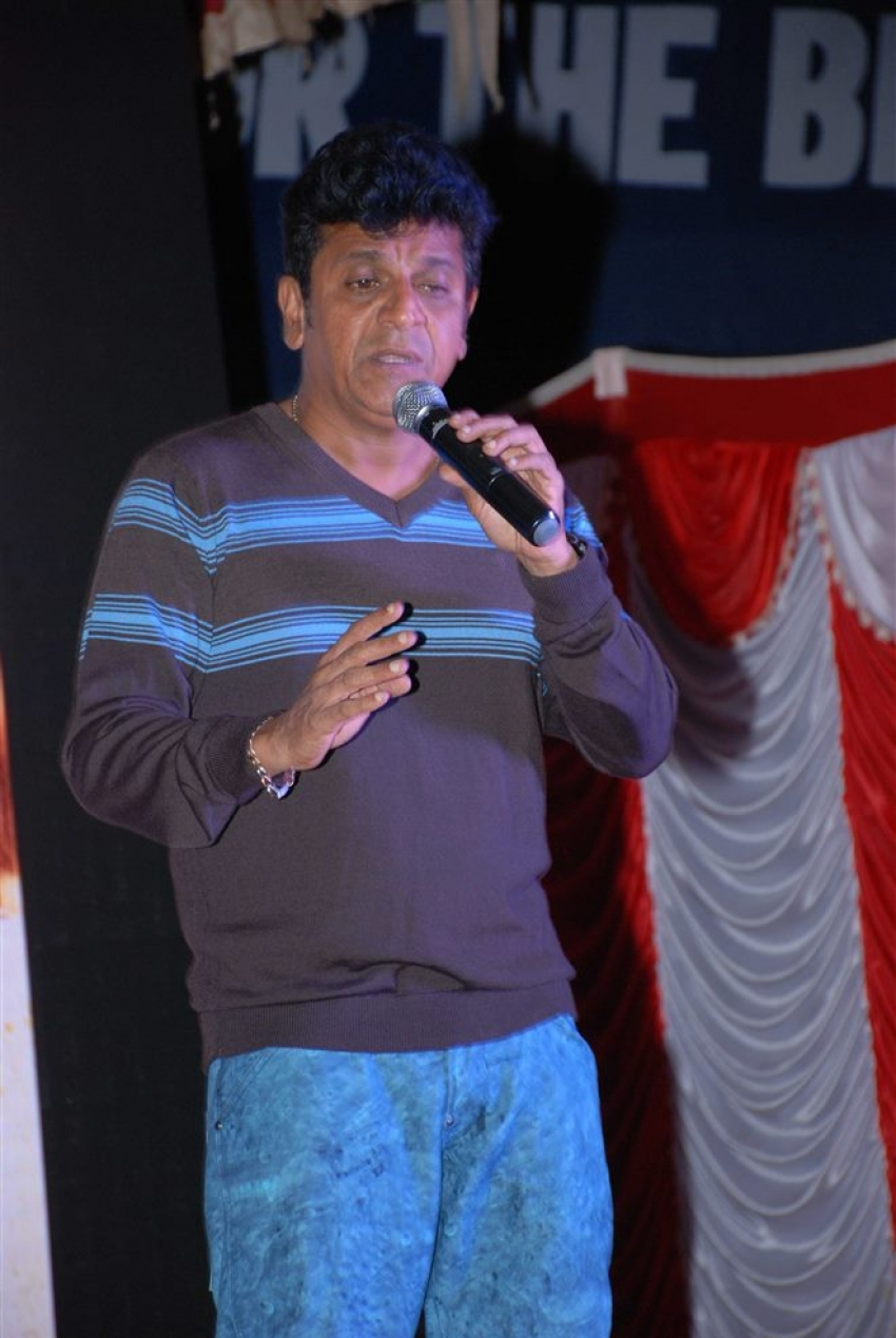 Shiva Rajkumar Launch Teaser of Film Kavacha Photos