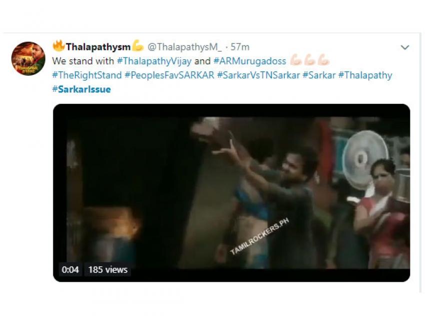Social Media Reacts On #Sarkarissue