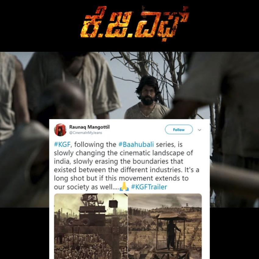 Social Media Reacts On Yash's KGF Trailer Photos