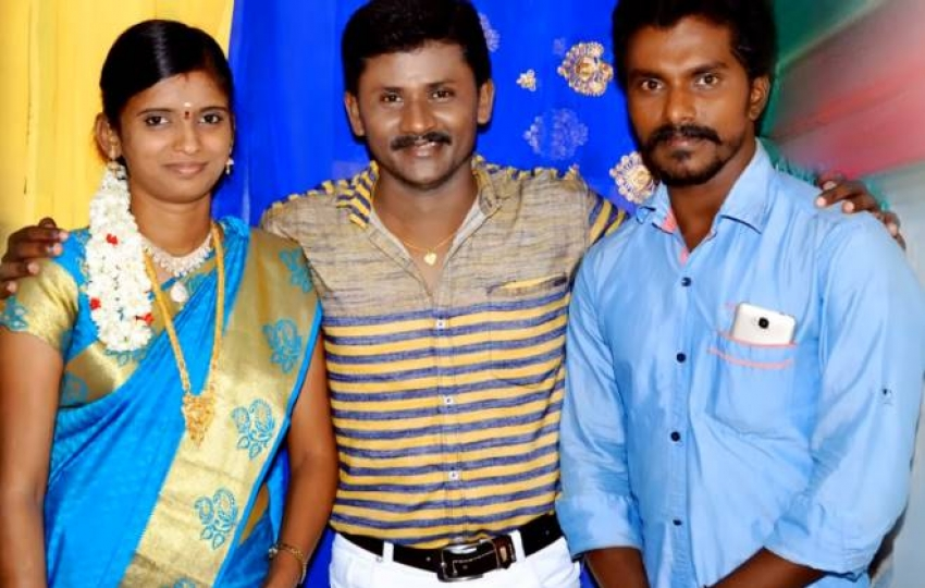 Super Singer Rajalakshmi And Senthil Ganesan Family Photos