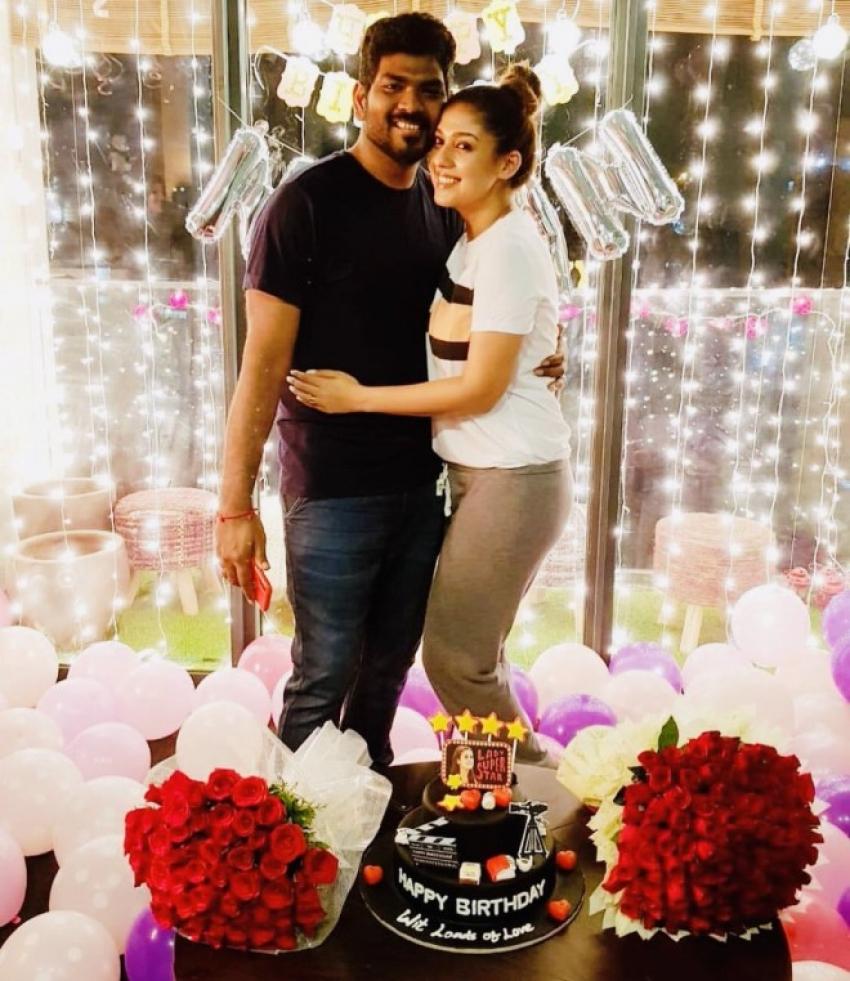 Nayantara Fun and Romantic Pictures Photos