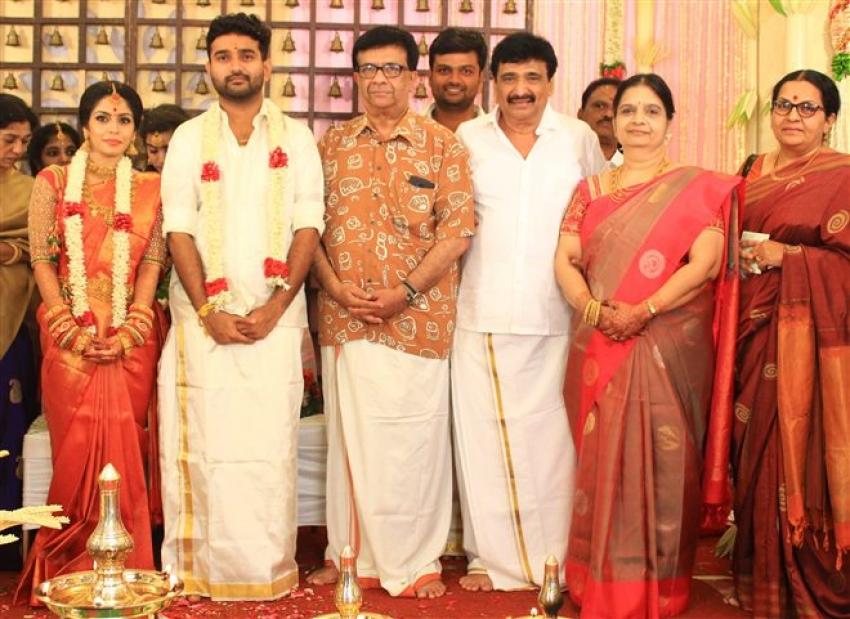 Actor Ramesh Kanna Son R.S.Jashwanth Kannan And K.Priyanka Marriage Photos