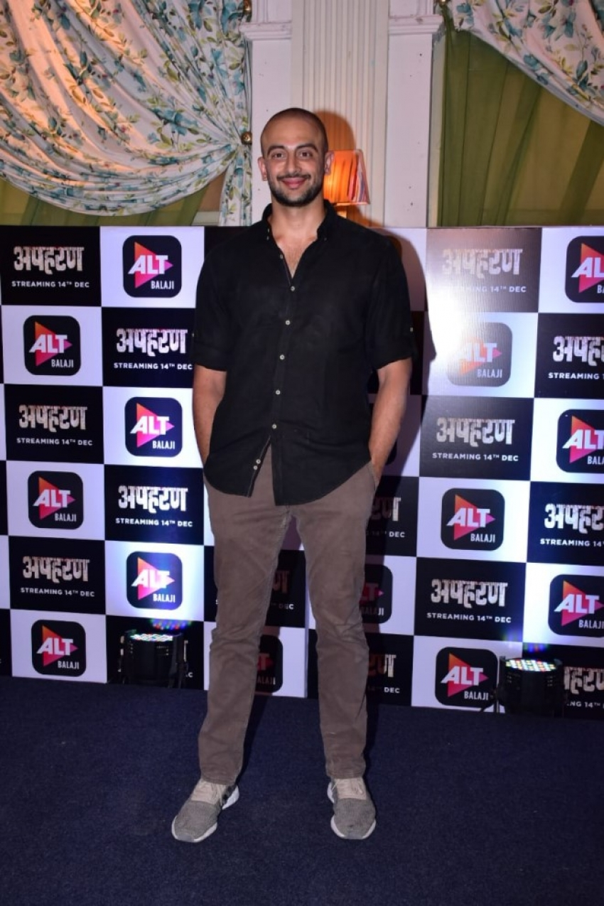 Alt Balaji Apharan Trailer Launch Photos
