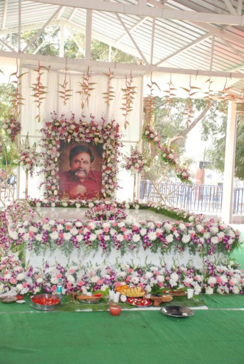 Ambarish 1st Month Punya Thiti Photos