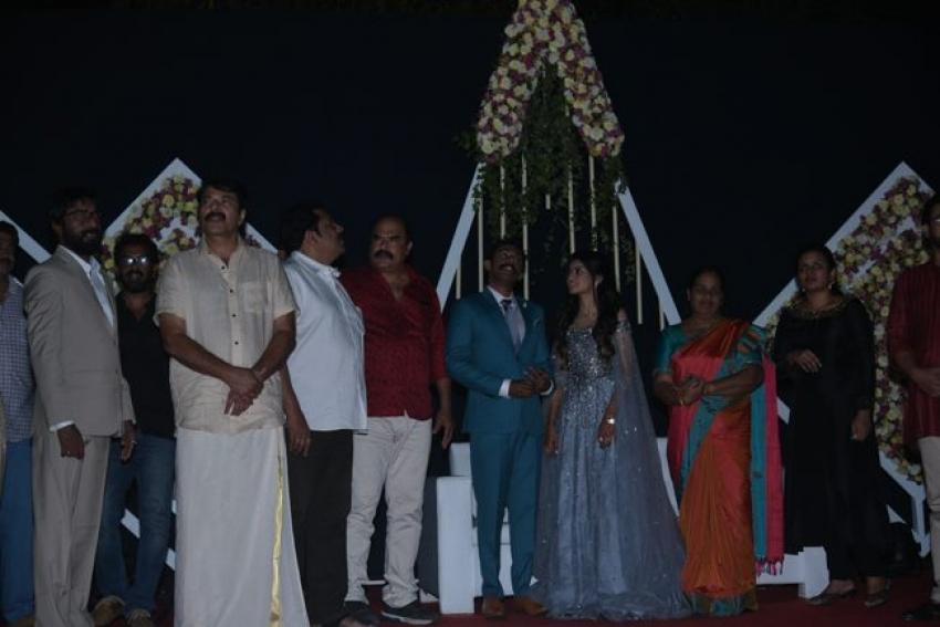 Arjun Ashokan Wedding Reception Photos