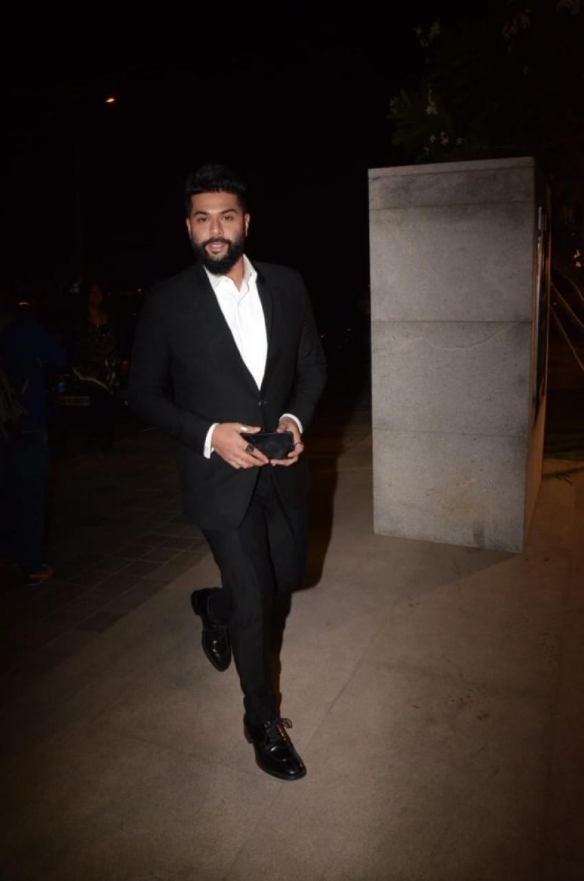 Celebs At Anil Kapoor Birthday Bash Photos