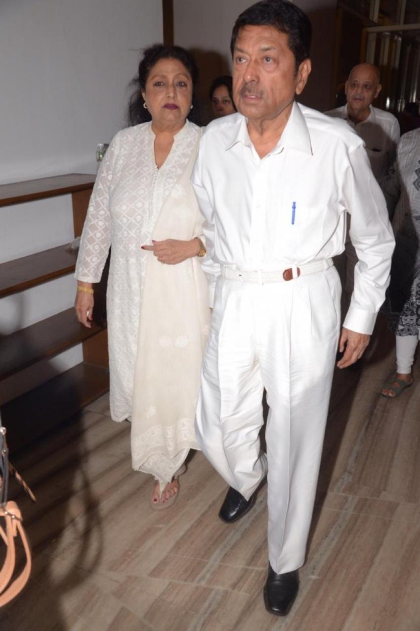 Celebs At Prayer Meet Of  Nana Chudasma In Mumbai Photos