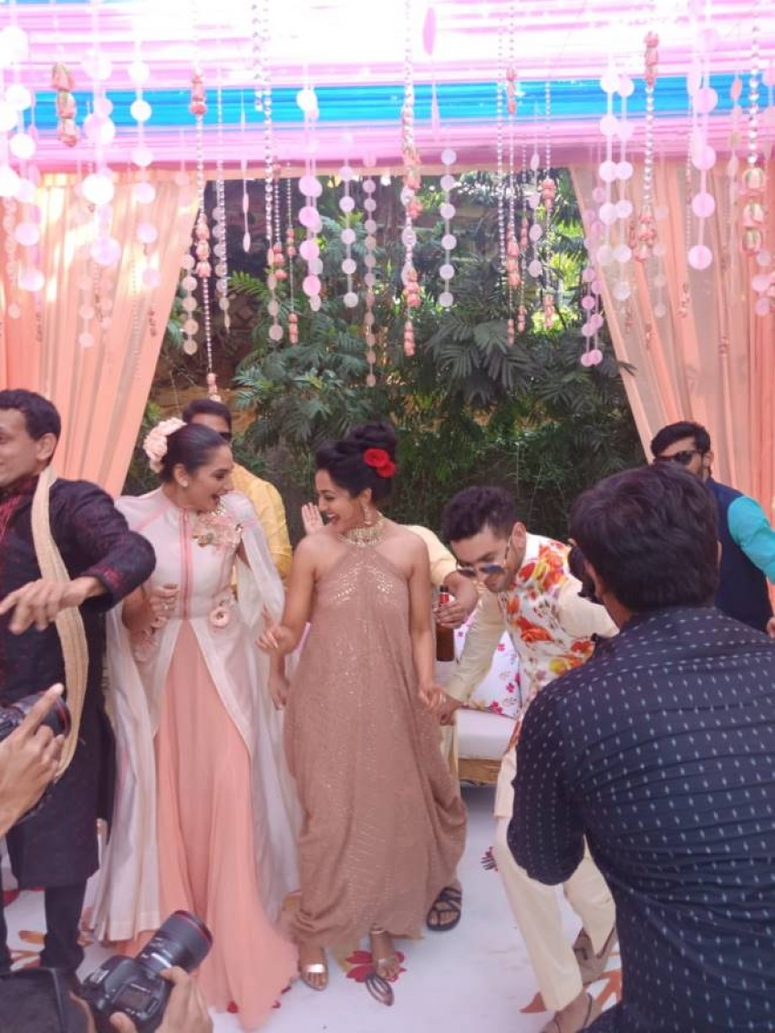 Diganth and Aindrita Ray Marriage Photos
