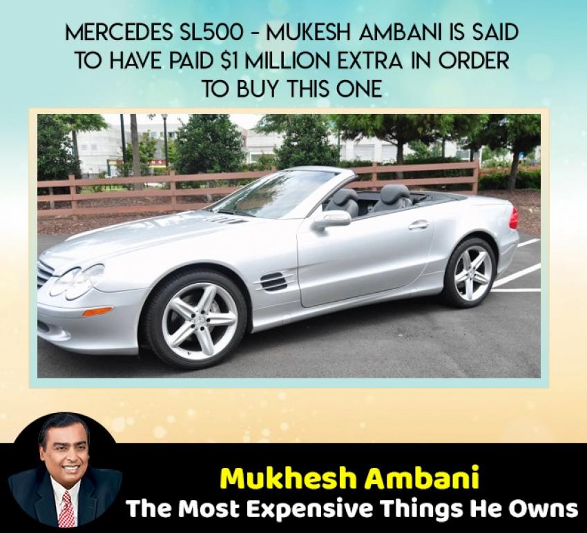 Expensive Things Mukhesh Ambani Own, Asia Richest Man Photos