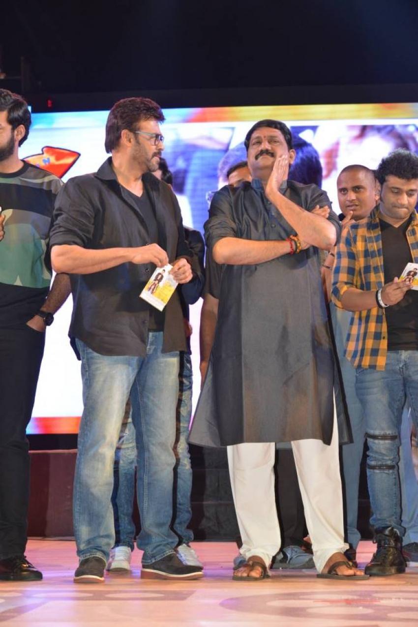 F2 Movie Audio Launch Photos