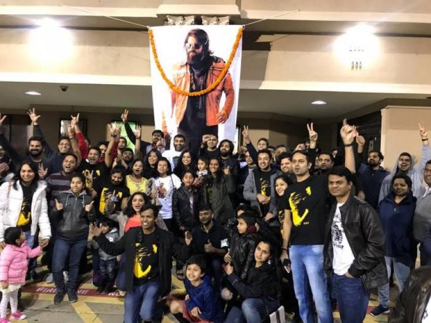 Fans Celebrates KGF Movie Release Photos