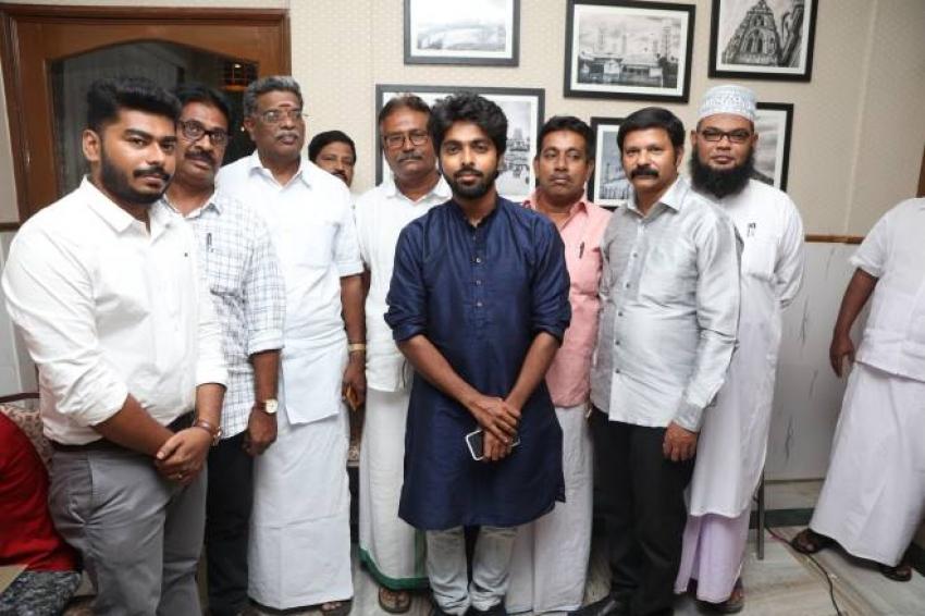 G.V.Prakash Kumar Inaugurate Multi Cuisine Restaurant Photos