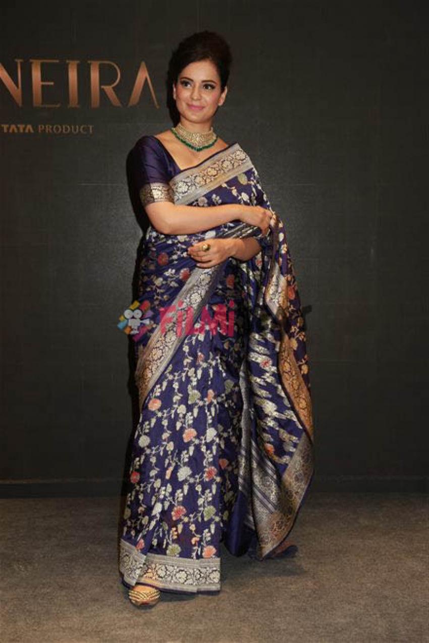 Kangana Ranaut At Launch Of Titan Taneira Store In New Delhi Photos