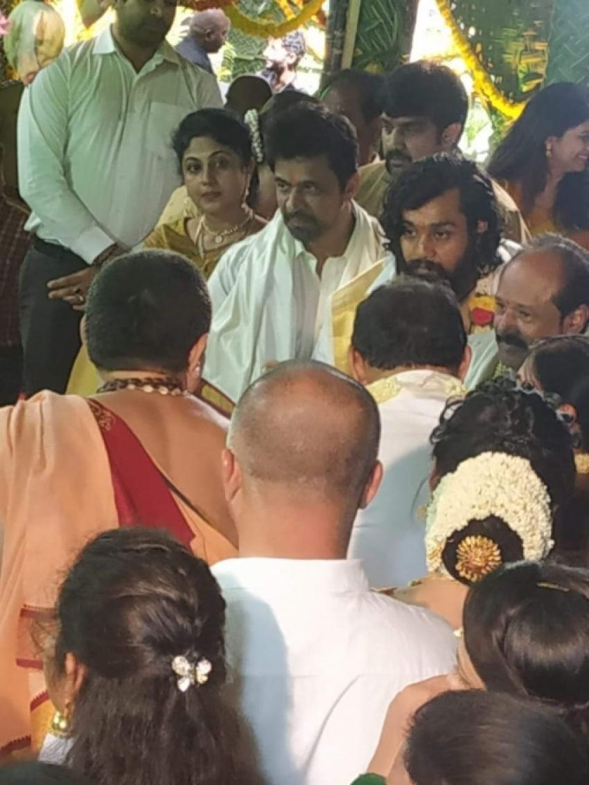Kannada Actor Dhruva Sarja And Prerana Shankar Engagement Photos