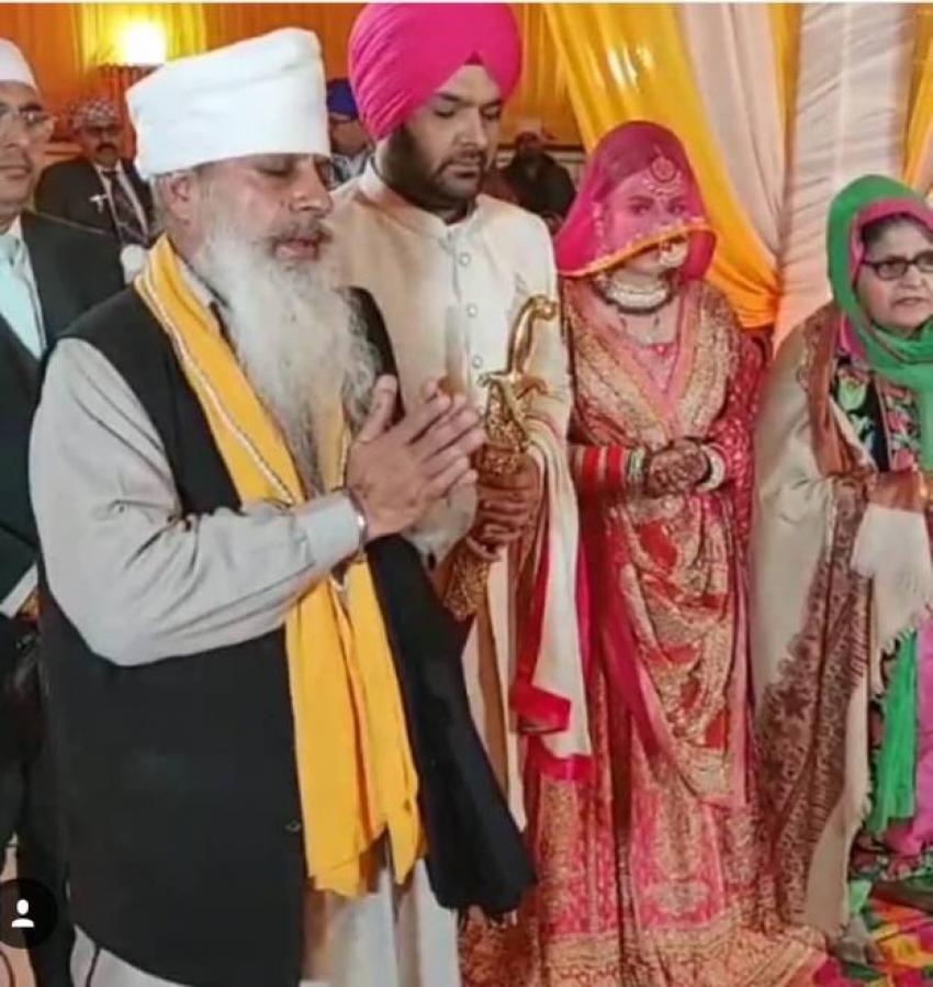 Kapil Sharma & Ginni Chatrath Wedding Photos