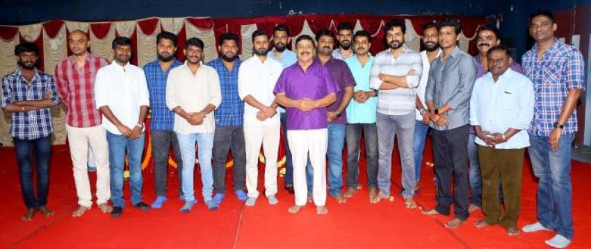 Karthi 18 New Movie Launch Photos
