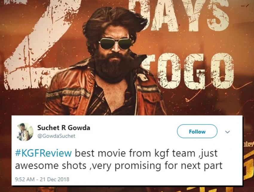 KGF Movie Audience Reaction Photos