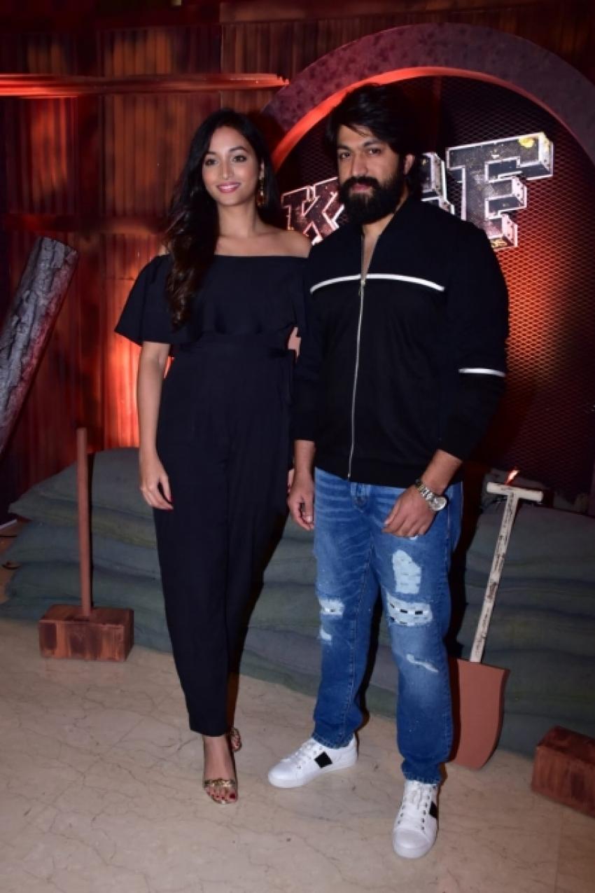 KGF Movie Trailer Launch In Mumbai Photos