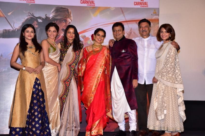 Manikarnika Trailer Launch Photos