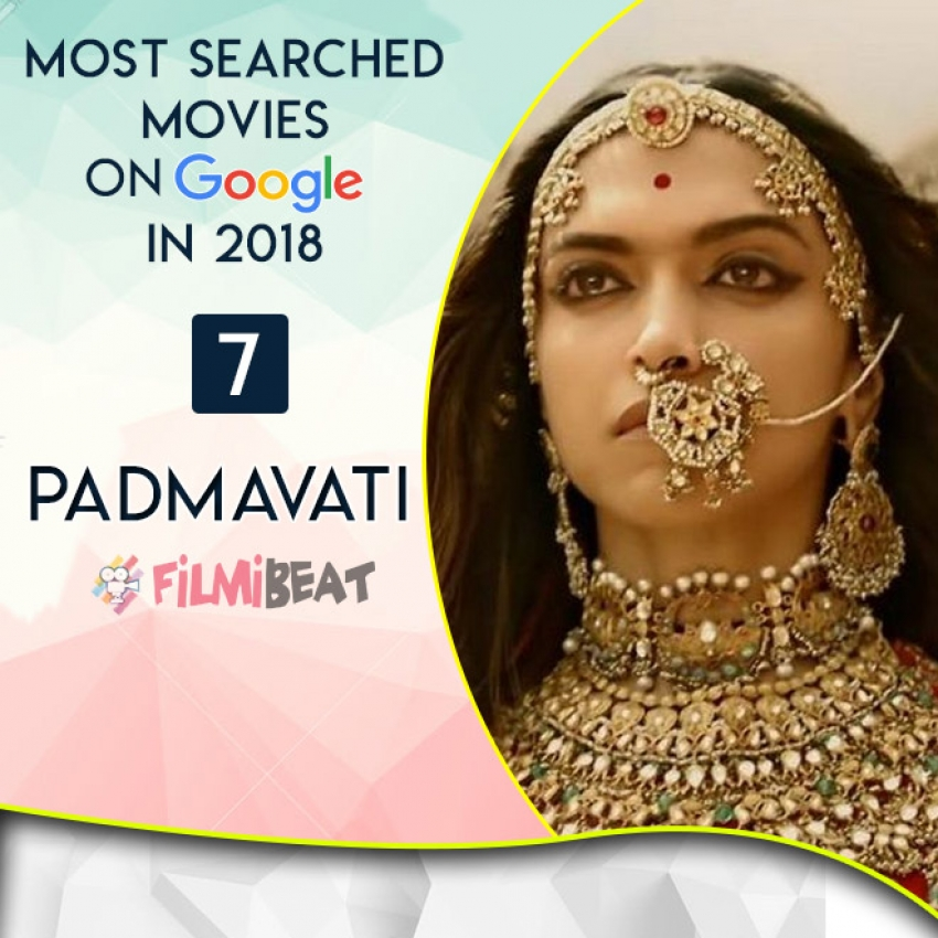 Most Searched Movies in 2018 Photos