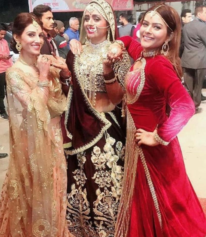Parul Chauhan And Chirag Thakkar Wedding Reception Photos