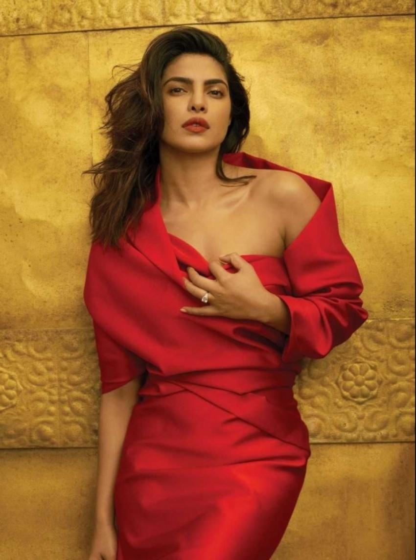 Priyanka Chopra & Nick Jones Vogue 2018 Photoshoot Photos