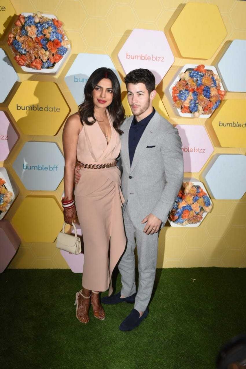 Priyanka Chopra And Nick Jones At Bumble Party Photos