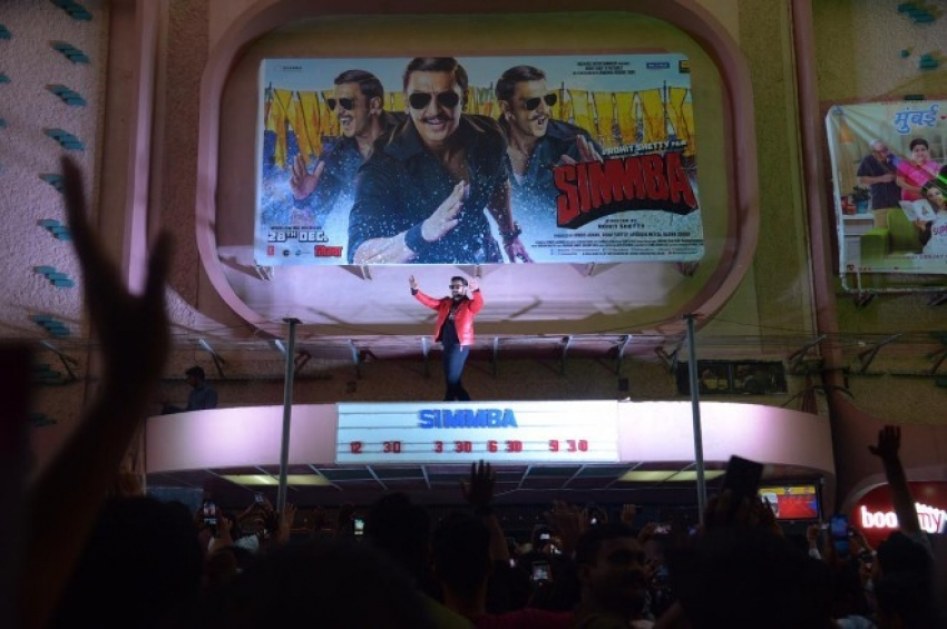 Ranveer Singh & Rohit Shetty visits Gaiety Theatre To Witness Audience Reaction of Simmba Photos