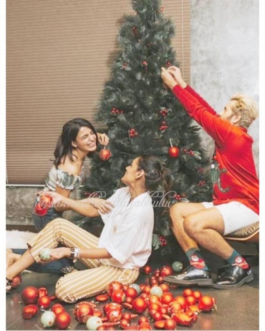Samantha Akkineni Christmas Celebration 2018 Photos